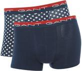 Gant 2 Pack Plain And Star Trunk Gift Set