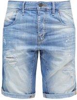 Jack & Jones Jjilester Denim Shorts Blue Denim