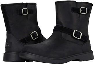 Ugg Kids Kinzey (Little Kid/Big Kid) (Black) Kid's Shoes