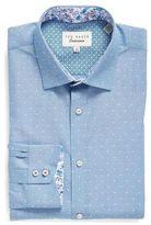 Ted Baker Dobby Dot Dress Shirt