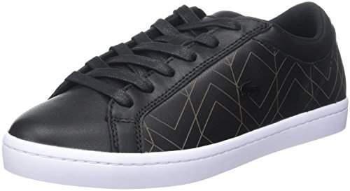 fccc502db Lacoste Black Shoes - ShopStyle UK