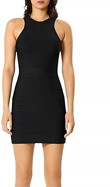 Herve Leger Mini Racer Dress