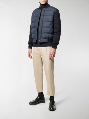 Salvatore Ferragamo Padded Panels Jacket