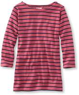 L.L. Bean L.L.Bean French Sailor's Shirt, Three-Quarter-Sleeve Boatneck