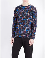 Ps By Paul Smith Paisley Motif Cotton-jersey Sweatshirt