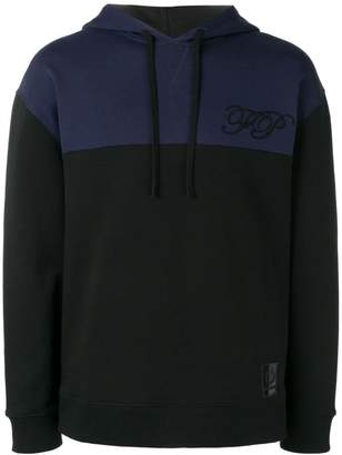 Fred Perry two tone hoodie