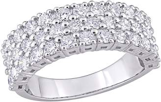 Affinity Diamond Jewelry Affinity 1.70 cttw Diamond Triple-Row Band, 14K