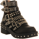 Jeffrey Campbell Colburn Buckle Ankle Boots