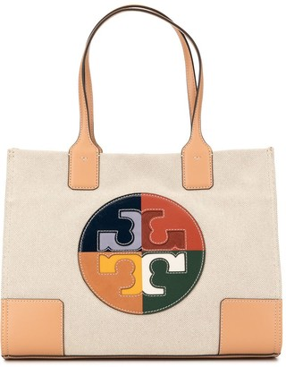 Tory Burch Ella color-block tote bag