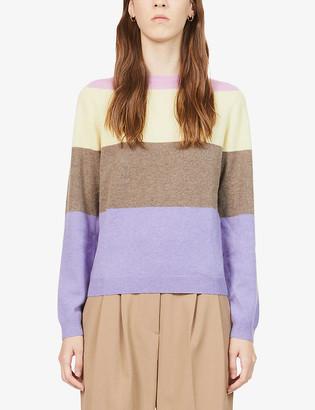 People's Republic Of Cashmere Striped cashmere jumper