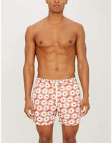 AFIELD Floral-print swim shorts
