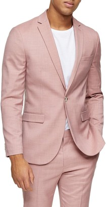 Topman Dax Slim Fit Suit Jacket