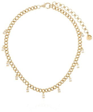 Shay 18kt Yellow Gold Diamond Link Choker