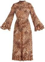 Gestuz CHRISTINE Maxi dress brown