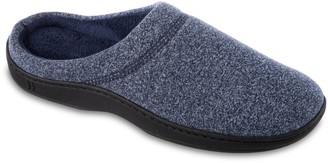 Isotoner Men's Space Dye Clog Slippers