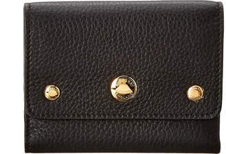 Burberry Triple Stud Leather Folding Wallet