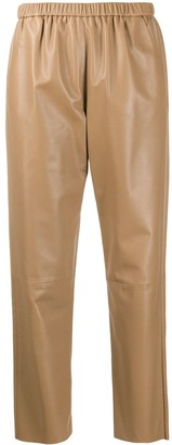 Drome High-Waist Cropped Trousers