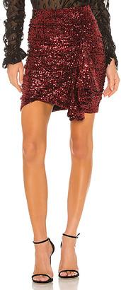 IORANE lORANE Sequin Mini Skirt