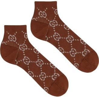Gucci GG embroidered socks