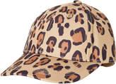 Mini Rodini Beige Leopard Cap