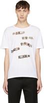 Valentino White Jamie Reid Edition the Next Beginning T-shirt