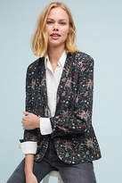 Berenice Piped Floral Blazer
