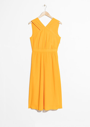 And other stories Cross Front Dress