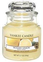 Yankee Candle Small Jar Candle - Sicilian Lemon