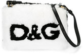 Dolce & Gabbana rabbit fur shoulder bag