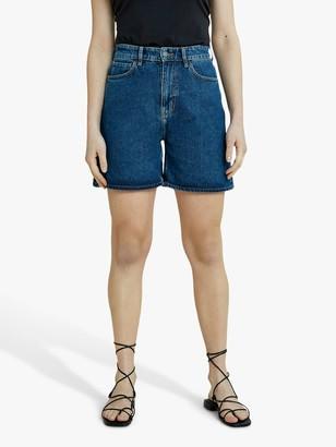 People Tree Yetta Denim Shorts, Blue