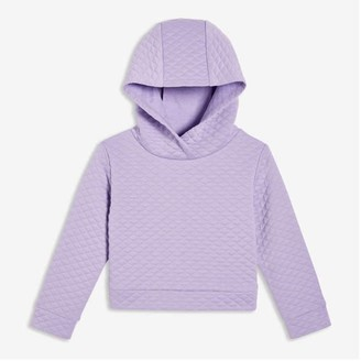 Joe Fresh Toddler Girls' Quilted Hoodie, Lavender (Size 3)