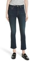 Rag & Bone Women's Hana High Waist Crop Flare Jeans