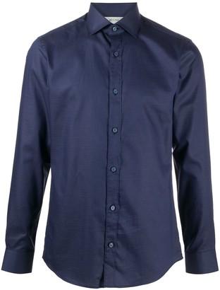 Ermenegildo Zegna Pointed Collar Slim-Fit Shirt