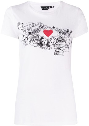 Richard Quinn cupid print T-shirt