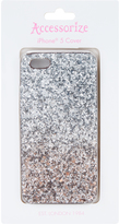 Accessorize Chunky Ombre Glitter iPhone 5 Cover