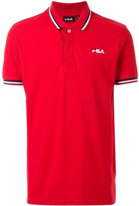 Fila Embroidered Logo Polo Shirt