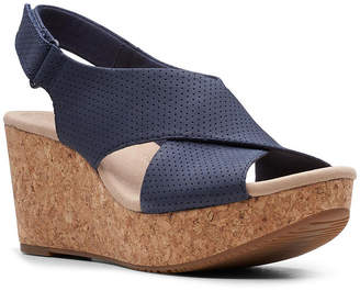 Clarks Collection Women Annadel Parker Wedge Sandals Women Shoes