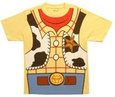 Mighty Fine Toy Story I Am Woody Costume Tee Mens S