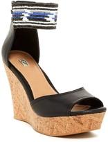 UGG Jacinda Beaded Wedge Sandal