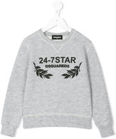 DSQUARED2 long sleeve sweatshirt - kids - Cotton/Rayon - 4 yrs