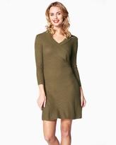 Charming charlie Comfy Sweater Sheath Dress