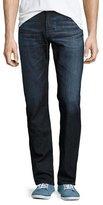 AG Jeans Protégé Hot Spring Straight-Leg Denim Jeans, Dark Indigo