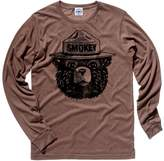 Hank Player 'Official Smokey Bear' Men's Long Sleeve T-Shirt (XL, )