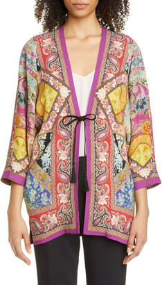 Etro Floral & Paisley Print Jacket