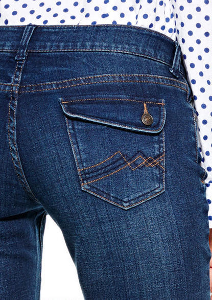 Delia's Reese Low-Rise Boot-Cut Jean Waterspout Wash