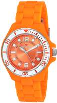 Seapro Women's 'Spring' Quartz Stainless Steel and Silicone Casual Watch, Color: (Model: SP3218)
