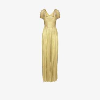 Maria Lucia Hohan Sharon Corseted Silk Evening Gown - Women's - Nylon/Silk/Spandex/Elastane