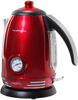 Nostalgia Electrics 1.7-Liter Red Retro Electric Kettle