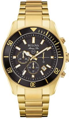 Bulova Men's Marine Star Quartz Bracelet Watch, 43mm