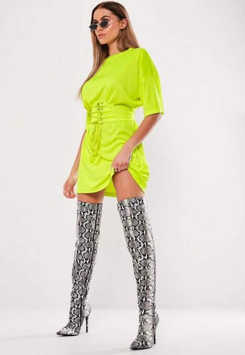 bd5a256d8 Neon Shirt Dress - ShopStyle UK